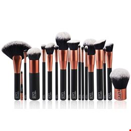 Complete Brush Set & Leather Pouch